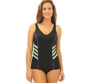 Fit 2 Swim Tummy V-Neck Sheath - A337047