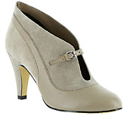 Bella Vita Leather and Fabric Booties - Neely - A337647