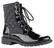 Cougar Waterproof Quilted Lace-up Boots - Jessy - A338947