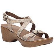 Dansko Leather Sandals - Julie - A340247