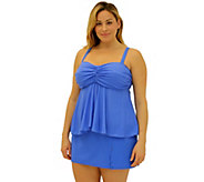 Fit 4 Ur Tummy Flared Bandeau Top - A340747