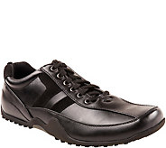 Deer Stags Mens Slip and Oil Resistant Oxfords- Donald - A363547