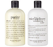 philosophy exfoliating wash & purity made simple duo Auto-Delivery - A200248