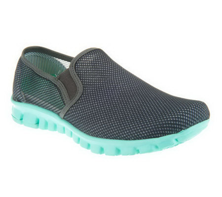 nosox wino mesh slip on shoes with a237848