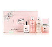 philosophy wrap yourself in grace & love 5-piece deluxe fragrance set - A238248