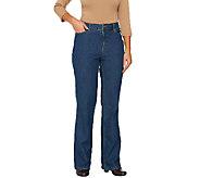 Liz Claiborne New York Petite Jackie Boot Cut 5-Pocket Jeans - A240848