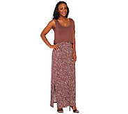 Lisa Rinna Collection Petite Printed Maxi Dress with Removable Top - A265448