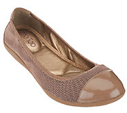 Me Too Mesh Ballet Flats - Harbor - A265948
