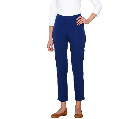 Isaac Mizrahi Live! 24/7 Stretch Ankle Pants