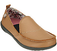 Spenco Orthotic Leather Slip-on Shoes - Siesta - A268648