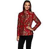 Susan Graver 25th Anniversary Tapestry Jacket - A271048
