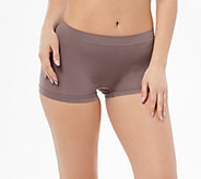 Breezies Set of 4 Seamless Boyshort Panties - A272948