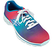 As Is Skechers GO Walk 3 Lace-Up Sneakers - Pulse - A283648