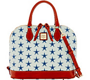 Dooney & Bourke NFL Cowboys Zip Zip Satchel - A285748