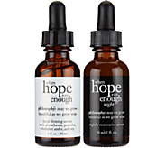 philosophy when hope is not enough AM/PM serum duo Auto-Delivery - A287248