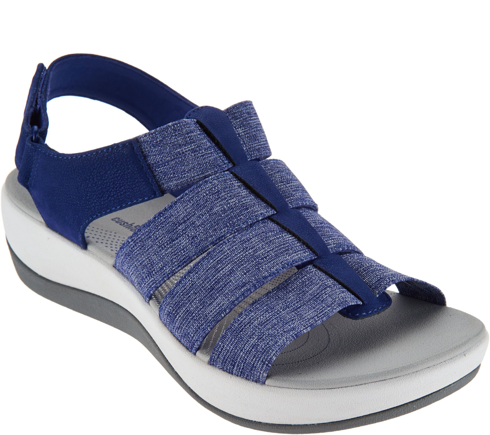 Black sandals clarks