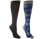 VIM & VIGR Cotton Graduated Compression Socks Set of 2 - A292948