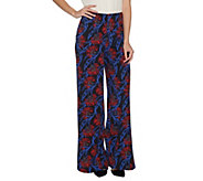 G.I.L.I. Petite High Waisted Wide Leg Pants - A301448