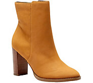 Sole Society Leather Ankle Boots - Micah - A355448