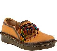 Spring Step L`Artiste Leather Slip Ons - Emilia - A360148