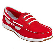Ryka Nubuck Leather Slip-on Boat Shoes - Chatham - A231749