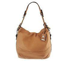 Aimee Kestenberg Leather Lauren Hobo W / woven H...