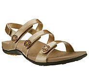 Vionic Orthotic Adj. Triple Strap Sandals - Cathy - A252649