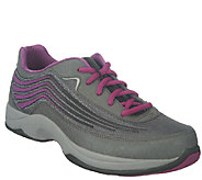 As Is Dansko Leather Lace-up Athletic Shoes - Shayla - A266149