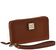 Dooney & Bourke Saffiano Leather Zip Around Wristlet - A266649