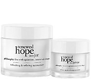 philosophy renewed hope moisturizer & eye cream duo Auto-Delivery - A269149