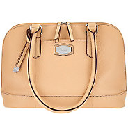 Tignanello Oversized Pebble Leather RFID Dome Satchel - A274849