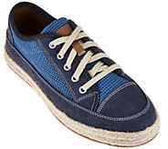 Clarks Mesh Lace-up Espadrilles Sneakers - Azella Prosper - A275849