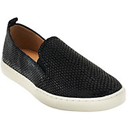 As Is Isaac Mizrahi Live! SOHO Slip-On Sneakers - A280349
