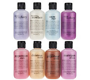 philosophy 8-piece land of sweets holiday shower gel set - A285949