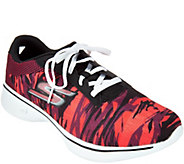 Skechers GOwalk 4 Waterprint Lace-up Sneaker - Motion - A287049