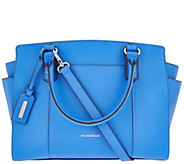As Is Tignanello Saffiano Leather RFID Satchel - A288449