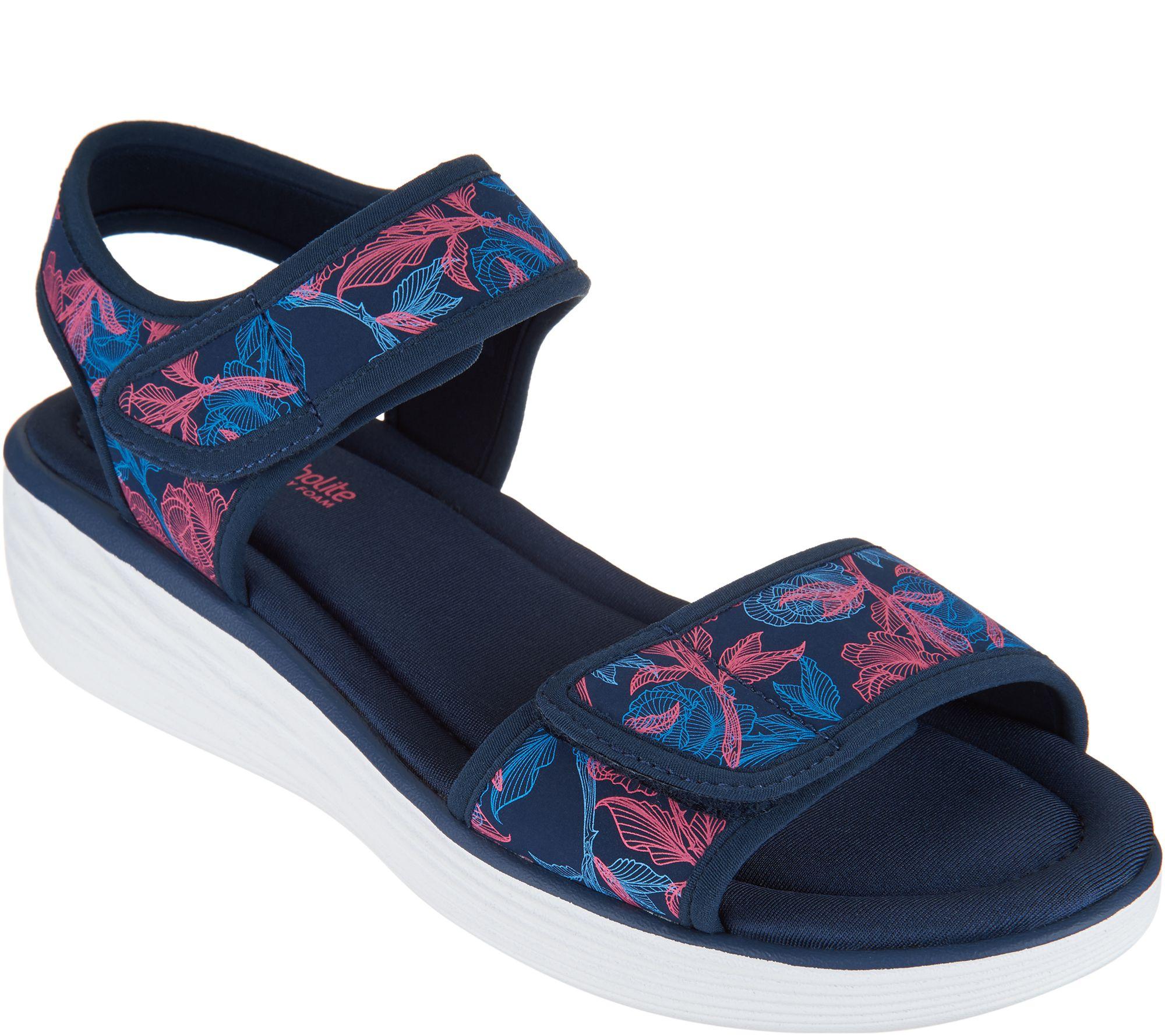 Ryka sandals shoes - Ryka Neoprene Wedge Sport Sandals Nora A292549