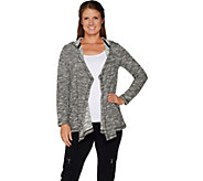 Susan Graver Weekend Space Dye Knit Cardigan - A297149