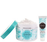 Coastal Salt & Soul Honey and Coconut Sugar Scrub & Hand Cream - A302049