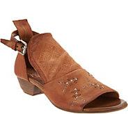 Miz Mooz Leather Detailed Sandals - Carey - A304349