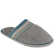 MUK LUKS Cathy Micro-Chenille Closed-Toe Slippers - A334649