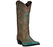 Dan Post Laredo Leather Cowboy Boots -Cross Point - A335449