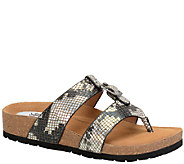 Sofft Printed Leather Sandals - Bettina - A336149