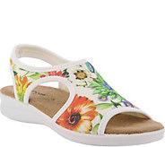 Flexus by Spring Step Spandex Sandals - Nyaman-Bouquet - A364249