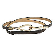Amiee Lynn 1/2 Skinny Adjustable Hook Belt - A188350