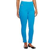 As Is Quacker Factory Reg Slim Leg DreamJeannes Legging - A260150
