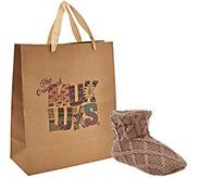 MUK LUKS Ardie Knit Slippers with Gift Bag - A268650