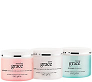 philosophy state of grace hot salt body scrub trio - A275050