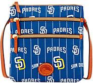 Dooney & Bourke MLB Nylon Padres Triple Zip Crossbody - A281550