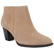 As Is Vionic w/ Orthaheel Orthotic Ankle Boots - Georgia - A287450